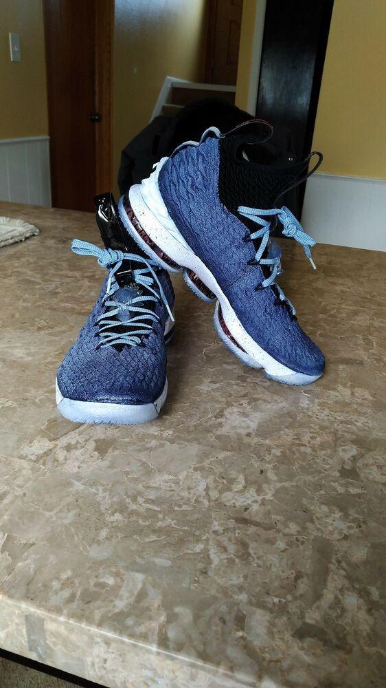 RARE color Nike men Lebron 15 High Top basketball shoes. see