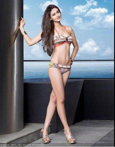 Classy Bikinis on Miss India 2015 contest finalists. Here: on Aditi Arya