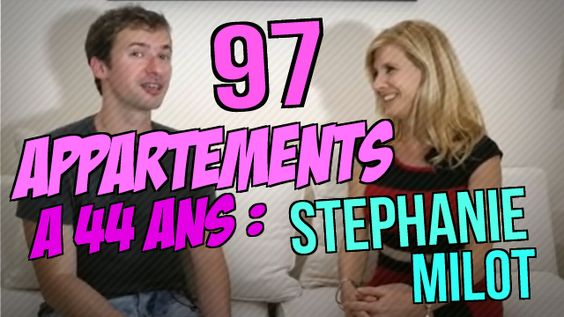 Comment être PROPRIÉTAIRE de 97 appartements à 44 ans en partant de ZÉRO ! #appartement #stephanie_milot : https://www.youtube.com/watch?v=NUfzblskM50 ;)