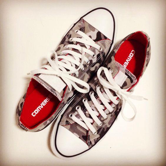 Converse. Camo edition