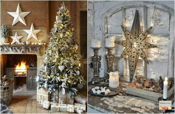 Shabby in love: Decor Christmas with stars