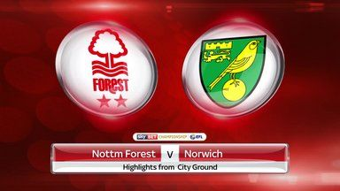 Nottingham Forest 1-2 Norwich