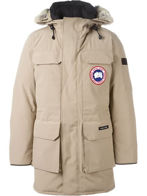 CANADA GOOSE hooded parka. #canadagoose #cloth #parka