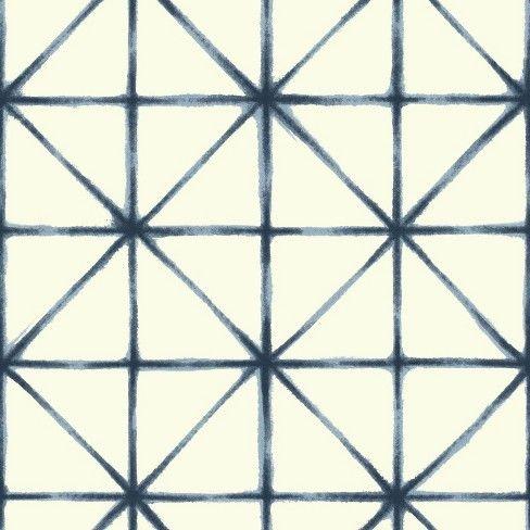 Roommates Modern Abstract Peel Stick Wallpaper Blue In 2020 Geometric Wallpaper Peel And Stick Wallpaper York Wallpaper