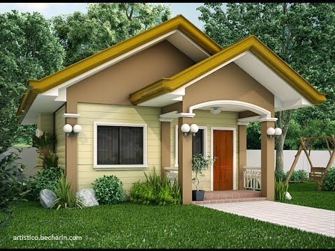 Small House Plans With Central Courtyard Smallhome Beautiful Small Homes Bungalow House Design Small House Architecture