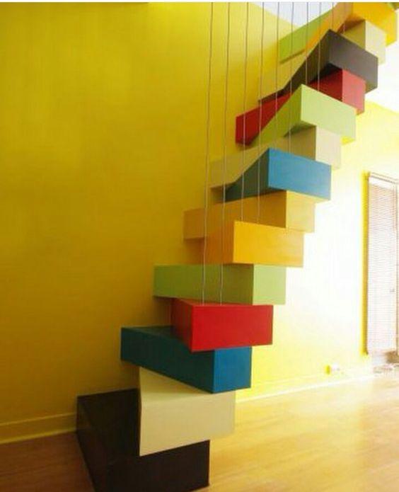 Escaleras divertidas