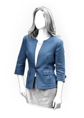(9) Name: 'Sewing : Jacket Sewing Pattern 4143