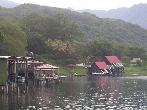 Lago de Coatepeque, Santa Ana; El Salvador, Centroamérica