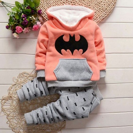 Not batman, but a cozy hoody and joggers like this - love the construction