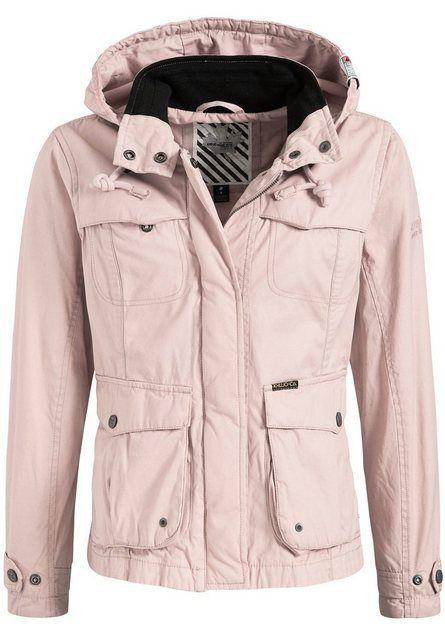 Khujo Cargojacke Malak 1 St Mit Abnehmbarer Kapuze Online Kaufen Jacken Khujo Und Stehkragen
