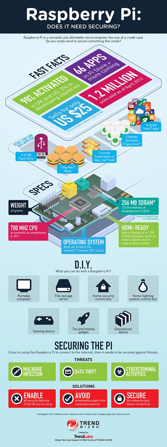 Infographic – Raspberry Pi Does It Need Securing