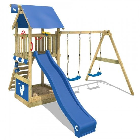 Klettergerust Fur Den Garten Smart Shelter Kinderspielturm 814168 K In 2020 Wickey Spielturm Spielturm Schaukel Rutsche