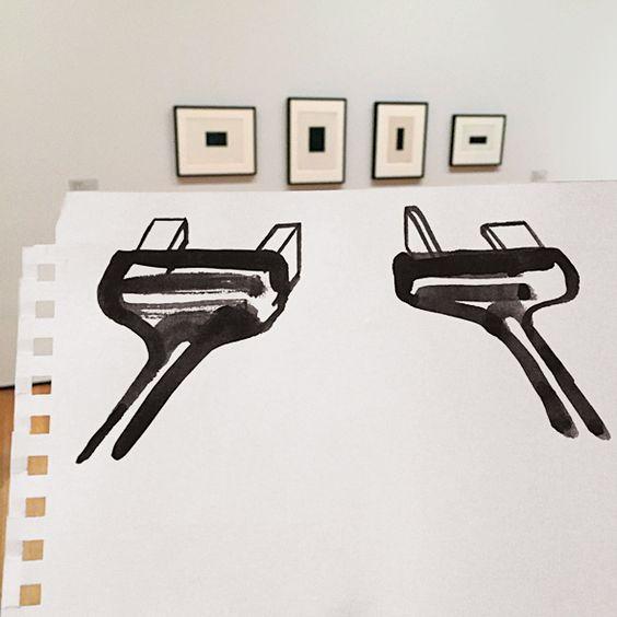 MOMA Art Drawings by Christoph Niemann