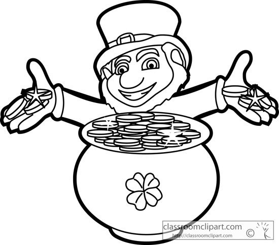 St Patricks Day Black And White Clipart St Patricks Day St Patricks Day Clipart Black And White Pictures