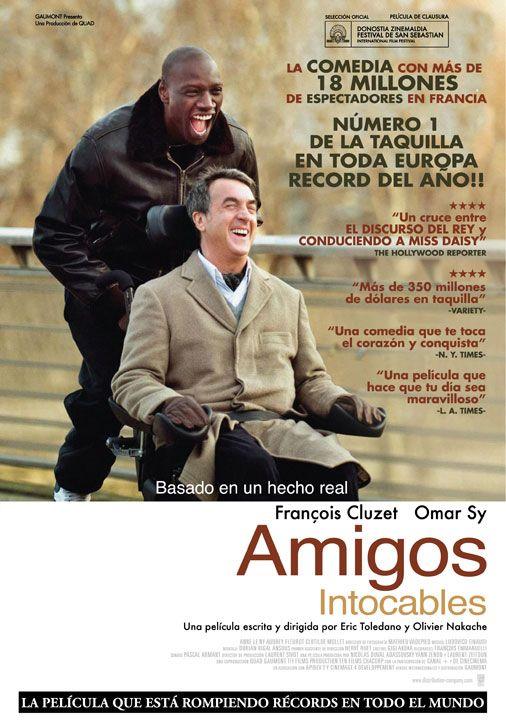 Untouchable Comedia Dramatica Francia 2011 The Intouchables Film Books Movies