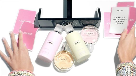 Mini parfums en gel Chance de Chanel