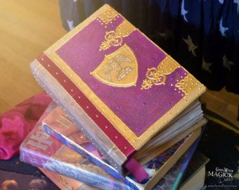 This handmade journal combines all of my creative passions: writing, painting, and magic!  The Lavender Faerie Diary is a 6x8.5 200 page book containing