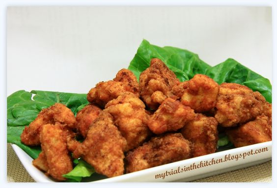 Hot & Spicy Popcorn Chicken