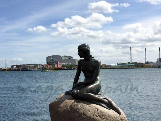 La Sirenita - Copenhague, una ciudad de cuento