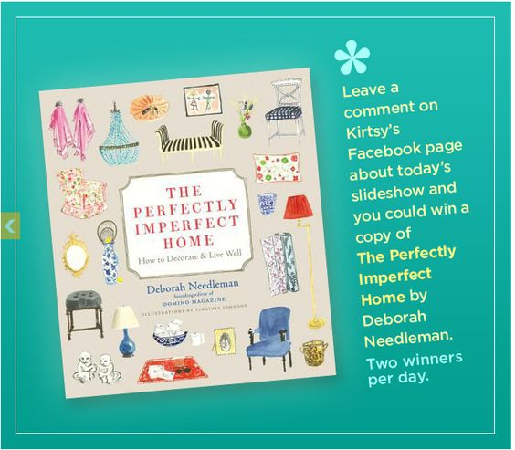 The Perfectly Imperfect Home is the new book by Deborah Needleman -- enter to win a copy!