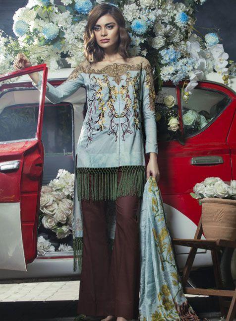 Tabassum Mughal Tm3a Stylish Dresses Casual Wear Dress Pakistani Outfits