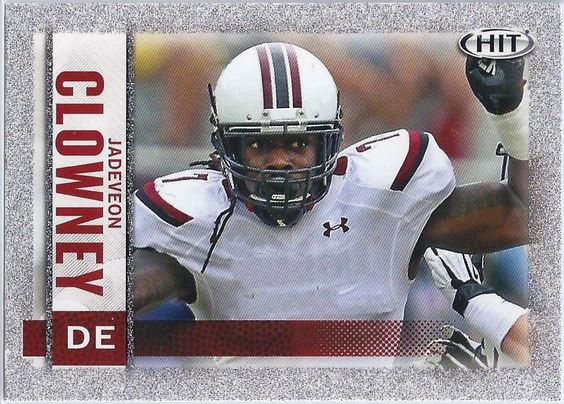 Jadeveon Clowney (Rookie) Houston Texans 2014 Sage Hit (Silver Parallel) card #7