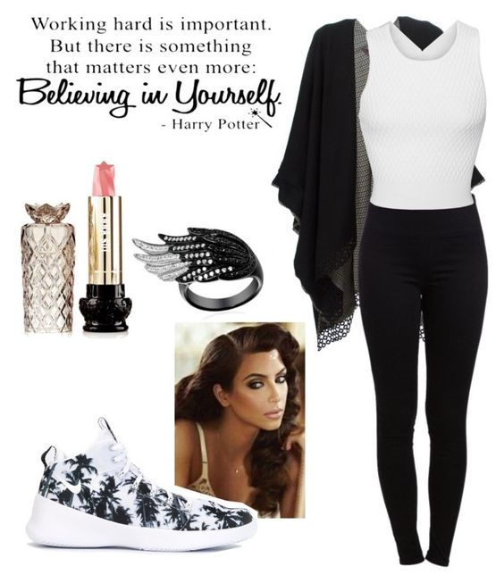 """Untitled #411"" by salleanna on Polyvore featuring Retrò, NIKE, Antonia Zander, Pieces, Jonathan Simkhai and Anna Sui"