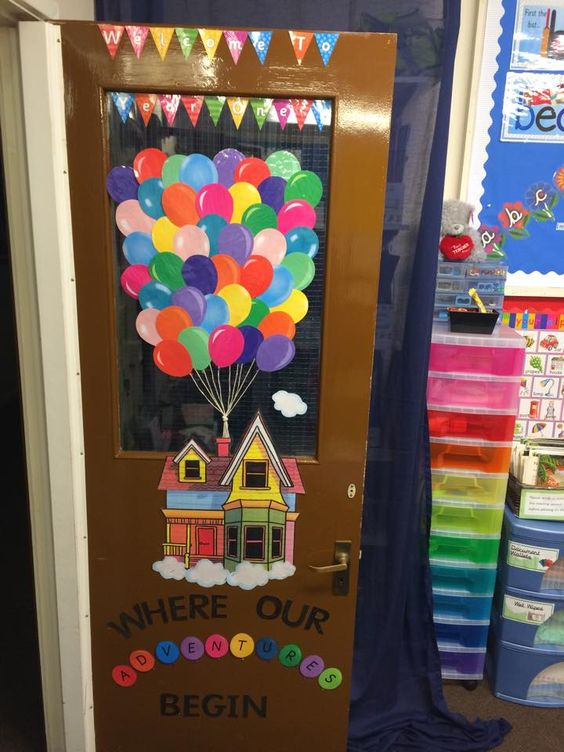What a great display to welcome the children back in to class! Made using Twinkl's display pack.