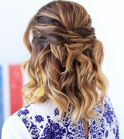 10 Mid Length Hairstyles To Wear To All Your Spring Events Hair Styles Short Hair Styles Short Hair Styles Easy