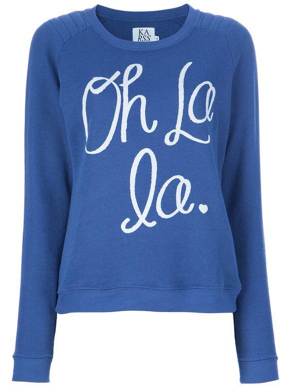 Oh La La sweater