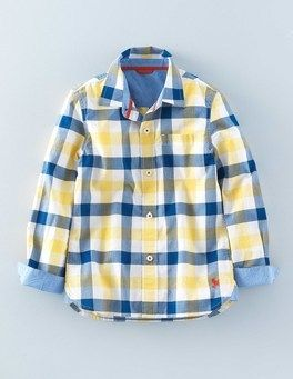 Shop Great Boys Dress Shirts and Button Up Shirts from mini Boden USA | Boden