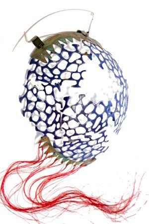 Artemis Valsamaki  Cosmos brooch:
