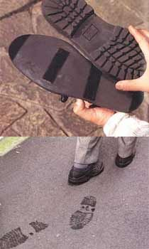 Backward soles for your shoes