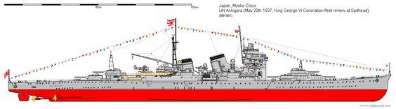 Japonia / CA Ashigara jeden tysiące dziewięćset trzydzieści siedem