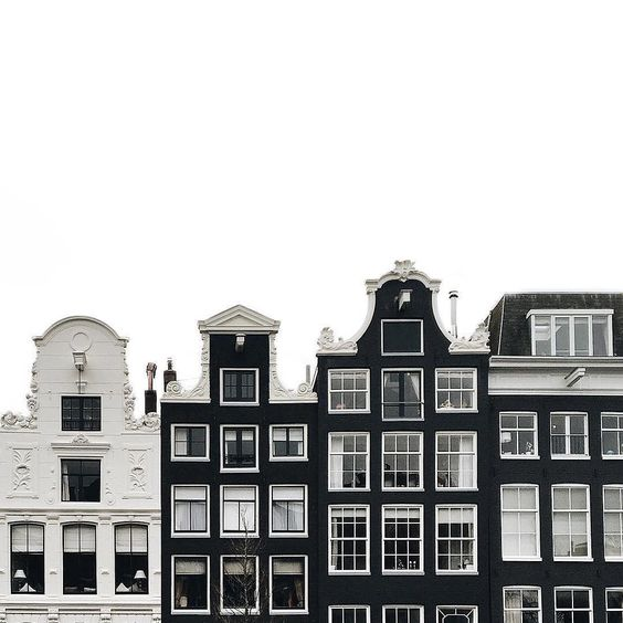 buildings of black and white tumblr pinterest urban outfitters geb ude und amsterdam. Black Bedroom Furniture Sets. Home Design Ideas