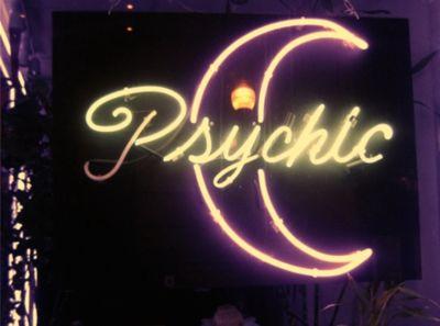 Psychic Neon Sign