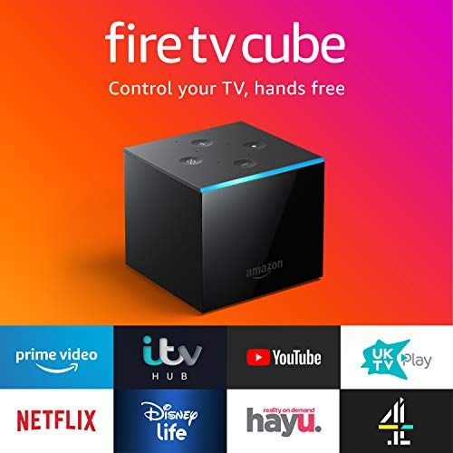 Fire Tv Cube Hands Free With Alexa 4k Ultra Hd Streaming Media