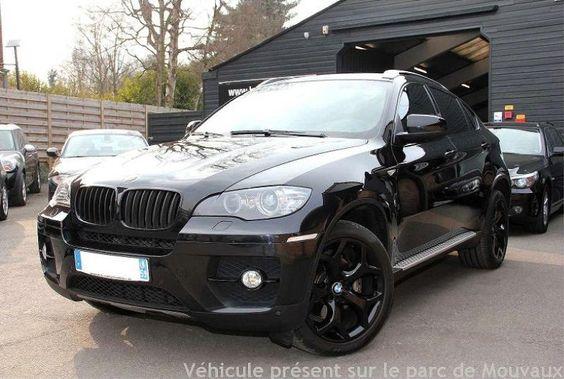 BMW X6 DIESEL 2010 NOIR 55621 km
