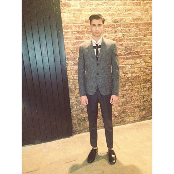 suit, shirt and footwear BURBERRY PRORSUM
