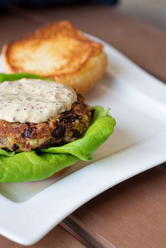 love these black bean burgers, and we love red beans and rice ...