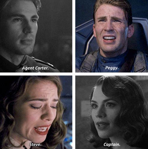 Dont talk to me about steve and peggy I will either start yelling or start crying:
