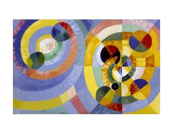 Robert Delaunay, Circular Forms, 1930, Archival Print
