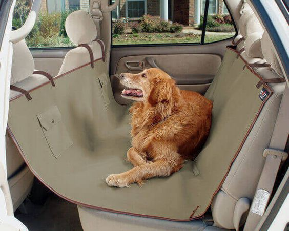 Housse pour siege d'auto pour chien