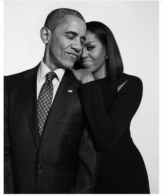 First Lady Michelle Obama and President Barack Obama: