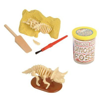 Dinosaur Fossil - Nature Sand Dino Dig Stocking Stuffer - 1pc $6