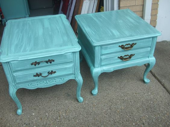 Teal furniture everywhere Deco Pinterest