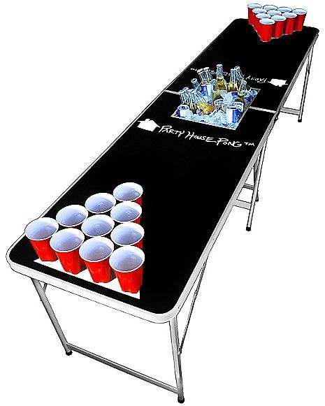 Party House Beer Pong Table with Cooler - Spencer's