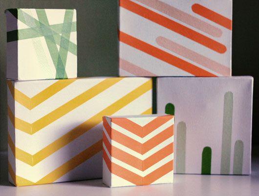 modern gift wrap