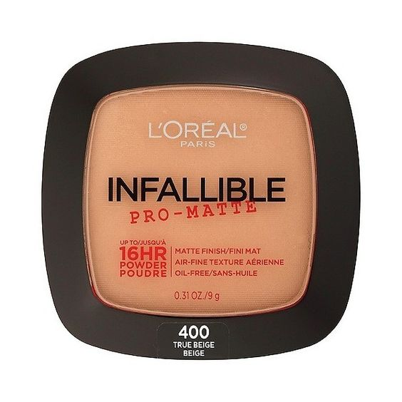 L'Oréal Paris Infallible Pro-Matte Powder ($9.89) ❤ liked on Polyvore featuring beauty products, makeup, face makeup, face powder and l'oréal paris