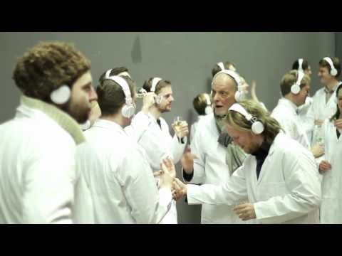 ▶ Marina Abramovic: Silent Party in Berlin - YouTube: It's my party & ill whisper if I want ;P